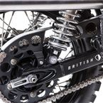 Black Modern Style Chain Guard - BC707-002-B