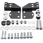 Chrome Touring Front Docking Hardware Kit - HW163007