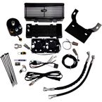 Flat Black Oil Cooler Kit - DY-1F