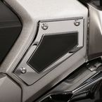 Chrome Swingarm Pivot Covers - 78110
