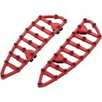 Red MX Driver Floorboards - 06-893