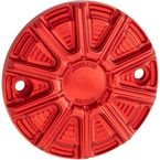 Red 10-Gauge Ness-Tech Points Cover - 700-014