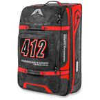 Black/Red Medium Roller Bag - 3512-0214