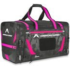 Black/Pink Large Gear Bag - 3512-0220