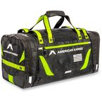 Black/Hi-Vis Yellow Medium Gear Bag - 3512-0222