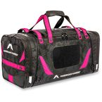 Black/Pink Medium Gear Bag - 3512-0226