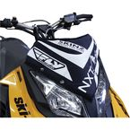 Black/White Next Level Skinz Windshield Pack - NXSWP400-BK/WHT