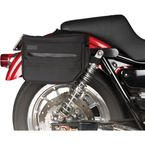 Black Essential Saddlebags - TSB-0000