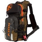 Olive/Black/Orange Nac Pak Backpack - 3319-005-000-302