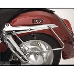 Chrome Saddlebag Supports - 55-117
