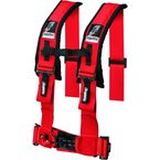 Red 4 Point Seat Harness - 14-0042