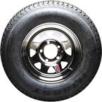 13 in. Spare Wheel and Radial Tire - BB206NR