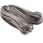 Black 1/4 in. x 50 ft. Synthetic Winch Rope - 078465