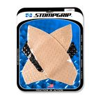 Clear Streetbike Volcano Traction Pad Kit - 55-10-0123