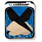 Clear Streetbike Volcano Traction Pad Kit - 55-10-0105