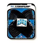 Black Streetbike Volcano Traction Pad Kit - 55-10-0024B