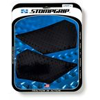 Black Streetbike Volcano Traction Pad Kit - 55-10-0102B