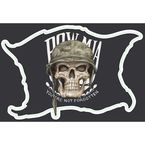 Mini MIA Skull Decal - LT55032