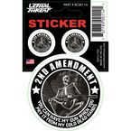 2nd Amendment Skeleton Mini Decal - RC00114