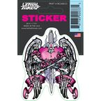 Lethal Angel Dagger Mini Decal - RC00033