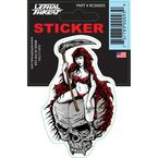 Reaper Girl Mini Decal - RC00093