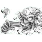 Shoot to Kill Decal - Left Side - LT00430