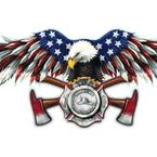 USA FD Eagle Decal - LT00662