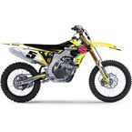 Yellow/Black/White EVO15 Graphics Kit - 21-01420