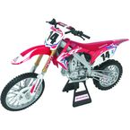 Team Honda HRC Cole Seely 1:12 Scale Die-Cast Model - 57933