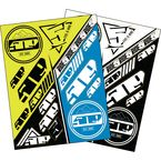 Hi-Vis/Blue Sticker Sheet - F13000300-000-501
