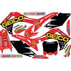 Geico Honda Complete Graphics Kit - 20-10-848