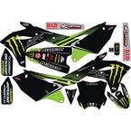 Kawasaki Monster Energy Complete Graphics Kit - 20-20-638