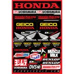 Geico Honda Decal Sheet - 40-10-114
