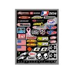 Helmet Logos Decal Sheet - 40-90-104