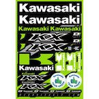 Kawasaki Decal Sheet - 40-20-100