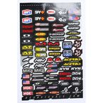 MX Logos 2 Decal Sheet - 40-90-113