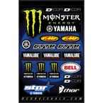 Star Yamaha Monster Decal Sheet - 40-50-117
