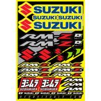 Suzuki Decal Sheet - 40-40-100