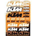 KTM SX Sticker Sheet  - 22-68530
