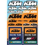 KTM Racing Sticker Sheet  - 22-68532