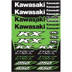 Kawasaki KX Sticker Sheet  - 22-68130