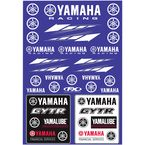 Yamaha Racing Sticker Sheet  - 22-68232