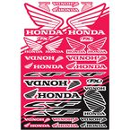 Honda CRF Sticker Sheet  - 22-68330