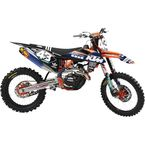 Black TLD KTM Washougal Limited Edition Team Impact Graphic Kit - TS40-5753