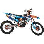 Blue TLD KTM Washougal Limited Edition Team Impact Graphic Kit - TS40-5754