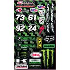 Pro Circuit Decal Sheet - TS30-1058