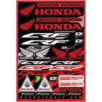 Universal Honda CRF Decal Sheet  - 40-10-100