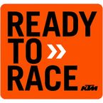 4 in. KTM Ready to Race Decal Sheet  - 40-30-200