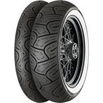 Front Conti Legend 130/80-17 Wide WhiteWall Tire - 02403010000