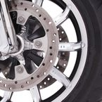 Chrome Faceted Wheel Spoke Inserts - 70050